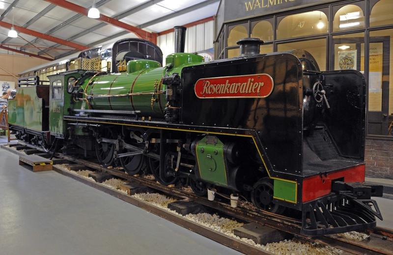 Rosenkavalier, Bressingham, Sun 1 September 2013.  15 inch gauge Krupp 1662 / 1937.