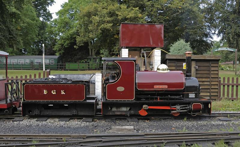 Alan Bloom, Bressingham, Sun 1 September 2013 2.  Built at Bressingham in 1995, and named after Bressingham's founder.