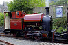 Corris Rly 0-4-2ST No 7, Corris, Tues 23 August 2011 1.   No 7 was built by Winson (17 / 2005), and is an updated version of the original No 4.