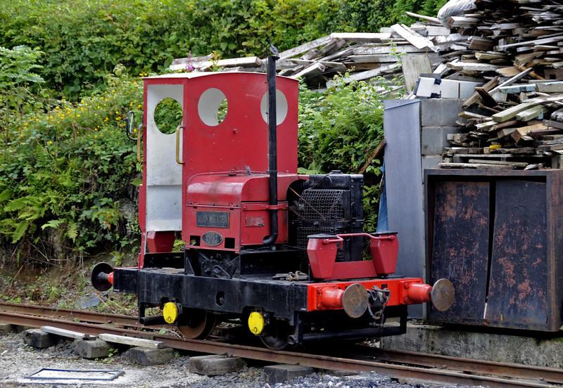 Corris Rly No 5 Alan Meaden, Maespoeth, Tues 23 August 2011.  Motor Rail 4wDM 22258 /1965.
