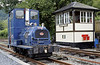 Corris Rly No 6, Maespoeth, Tues 23 August 2011.  Ruston & Hornsby 4wDH 518493 / 1966.