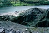 Quarry and Llyn Padarn, Dinorwic slate quarry, Llanberis, July 1969 2.  Photo by Les Tindall.