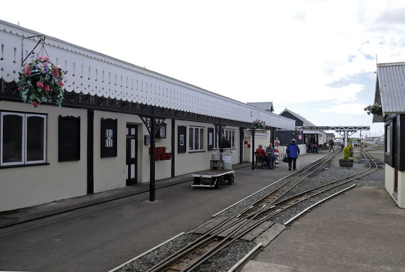 Fairbourne station, Wed 24 August 2011.