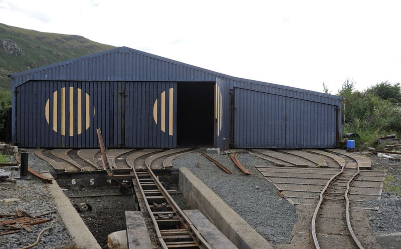 Carriage shed, Fairbourne, Wed 24 August 2011 1.