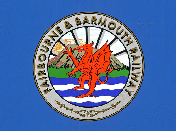 Welcome to the Fairbourne Rly!  Wed 24 August 2011.  As it does not go to Barmouth, it has now dropped the '& Barmouth' from its name.