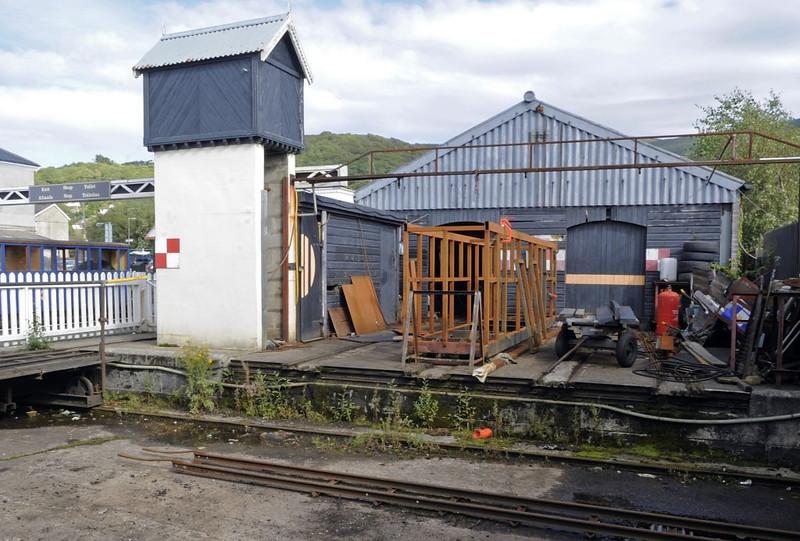 Traverser, Fairbourne, Wed 24 August 2011.