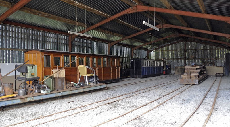 Carriage shed, Fairbourne, Wed 24 August 2011 2.