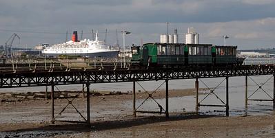 Hythe Pier Railway, 2008