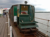 Hythe Pier Railway, 15 June 2008 9    The HPR has two locos, built by Brush in World War I and originally battery-powered.