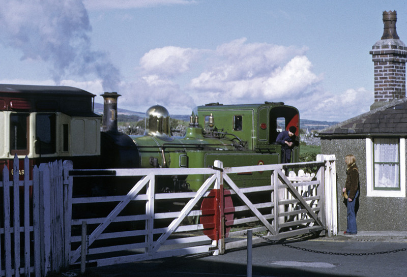 No 13 Kissack, Port St Mary, 6 September 1974 2.  Photo by Les Tindall.