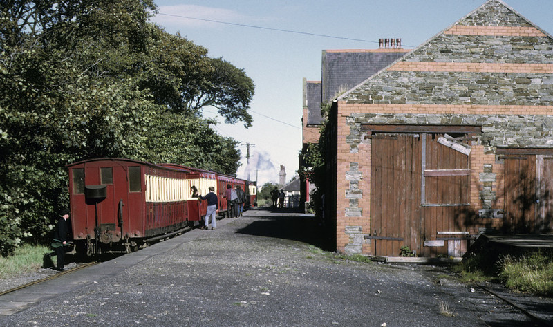 No 13 Kissack, Port St Mary, 6 September 1974 1.  The 1615 Port Erin - Douglas.  Photo by Les Tindall.