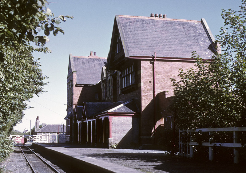 Port St Mary station, 6 September 1974.  Photo by Les Tindall.