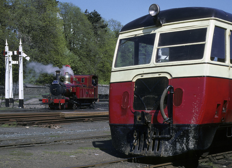 No 4 Loch & County Donegal railcar, Douglas, 27 May 1979.  Photo by Les Tindall.