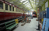 Railway museum, Port Erin, Fri 30 July 2010 2.      Coach F75 (left) is displayed behind F36.