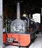 Lilian, Launceston, 8 September 2017 2. Hunslet 317 / 1883. The current boiler was built at Launceston, as was the tender.