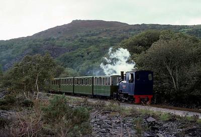 Llanberis Lake Railway, 1975