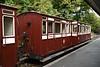 Lynton & Barnstaple Rly third class coach 11, Woody Bay station, 8 September 2017