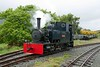Gelert, Gelert's Farm, Porthmadog, Sat 29 May 2010.  This Bagnall 0-4-2T (3050 / 1953) is the other loco from the Rustenburg mine, and is seen on the Welsh Highland Heritage Railway.