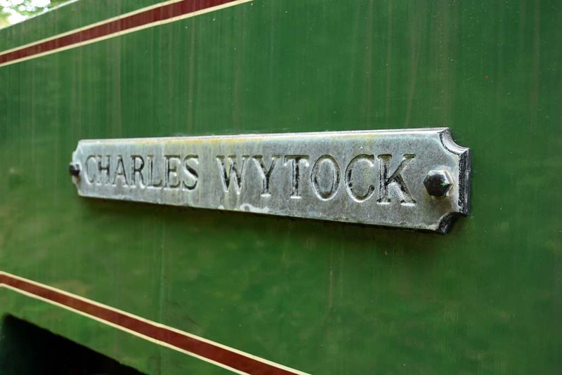Charles Wytock, Woody Bay, 8 September 2017.  Bagnall 4-4-0T 2819 / 1946, one of two repatriated from the Tongaat sugar mill, Natal, South Africa.  Although this loco was working in 2016 it has serious boiler problems and has been dismantled.