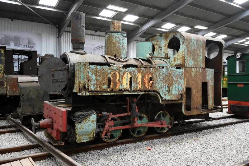 Joffre class 0-6-0T, Statfold Barn Railway, 8 August 2015.  Kerr Stuart 3010 / 1916, another of the Calais five.