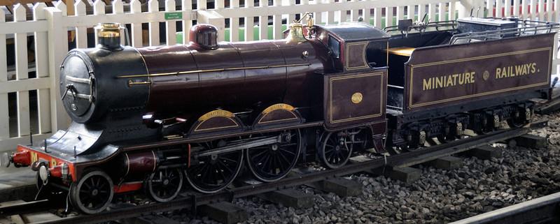 Little Giant, National Railway Museum, York, Sat 8 September 2012.  15in gauge 4-4-2 built by Bassett Lowke (10 / 1905)