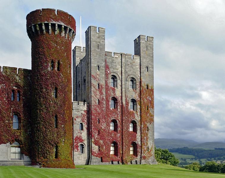 Penrhyn Castle, Mon 22 August 2011 2: West front.