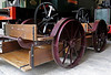 Arthur, Penrhyn Castle, Mon 22 August 2011.  At one time over 50 velocipedes of various types were used on the 4ft gauge Padarn Rly. often to take men to and from work.  This one is powered by cranks on the large cogwheels.