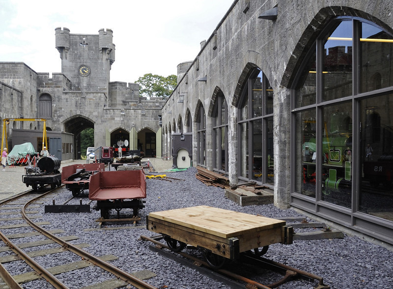 Penrhyn Castle, Mon 22 August 2011 5: Stable block.