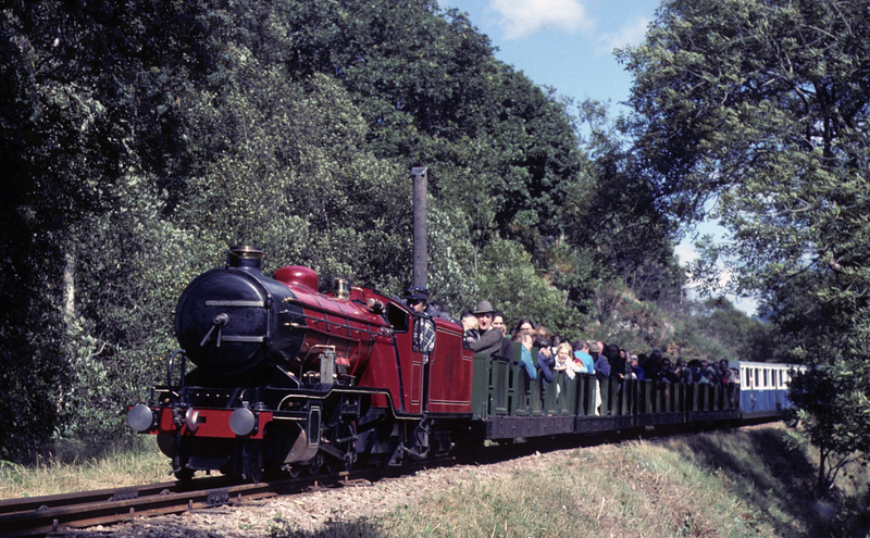 River Mite near Beckfoot, 31 July 1976.  Photo by Les Tindall.
