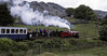 River Mite leaving Eskdale Green for Dalegarth, 9 June 1973.  Photo by Les Tindall.
