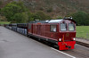 Douglas Ferreira, Dalegarth, 20 October 2006 1 - 1251.  Arriving with the 1210 from Ravenglass.