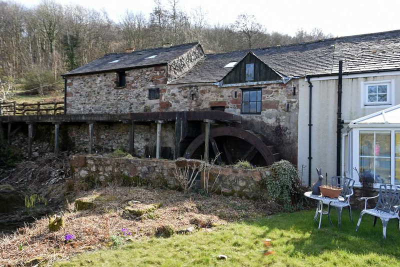 Muncaster water mill, Tues 20 March 2018