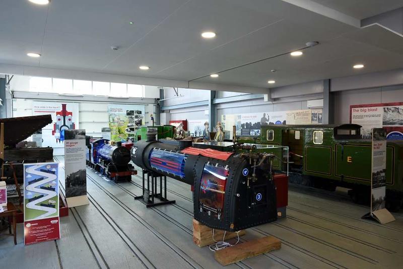 Ravenglass & Eskdale Railway museum, Ravenglass, Tues 20 March 2018 2.  The interior.
