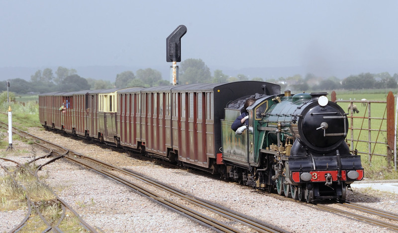 No 3 Southern Maid, New Romney, Fri 8 June 2012 - 1534 1.  Arriving with the 1500 Hythe - Dungeness.