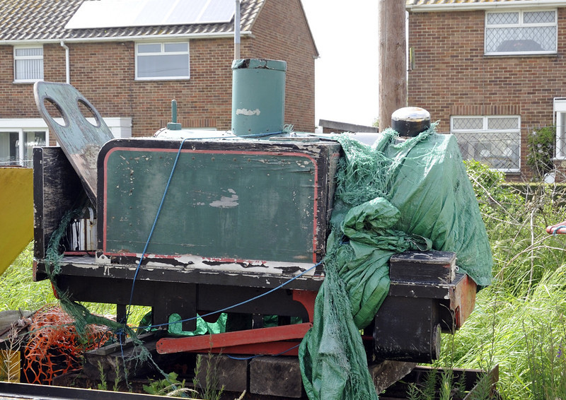 Unidentified 0-4-0T, New Romney, Fri 8 June 2012
