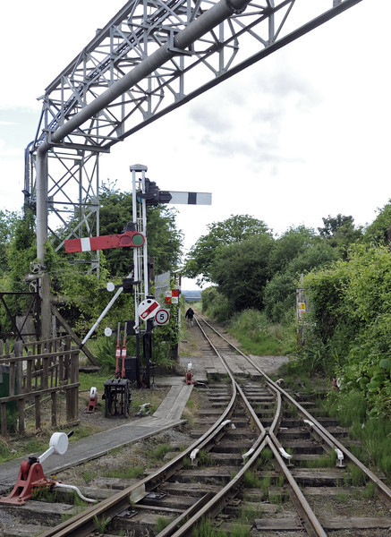 Kemsley Down station, Sat 9 June 2012.  Looking south towards Sittingbourne.