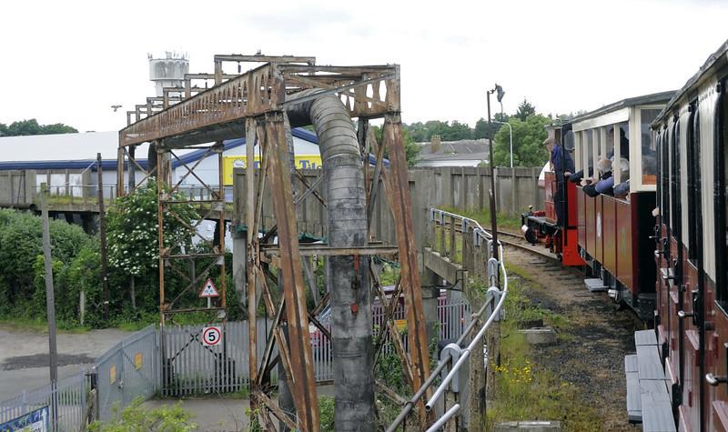 Leader, approaching Sittingbourne viaduct station, Sat 9 June 2012 - 1803