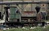 Leader, Sittingbourne? September 1969.  Kerr Stuart 0-4-2ST 926 / 1905.  In use on the SKLR in 2012.  Photo by Les Tindall.
