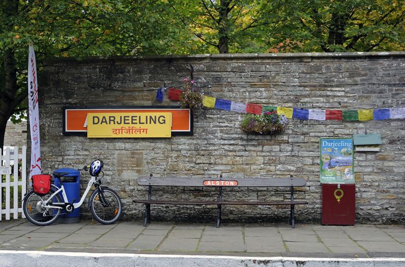 Alston / Darjeeling station, Sun 28 September 2014 1.  Here are four photos of Alston station as Darjeeling.