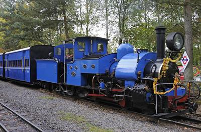 South Tynedale Railway Indian summer hill gala, 2014