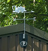Alston shed (52C) weather vane, 2 August 2008