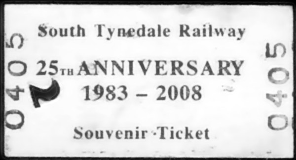 Welcome to the South Tynedale Railway's 25th anniversary gala!