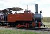 Saccharine, Statfold Barn Railway, Sat 8 August 2015.  John Fowler 0-4-2T 13355 / 1912, 2ft gauge.  From South Africa.