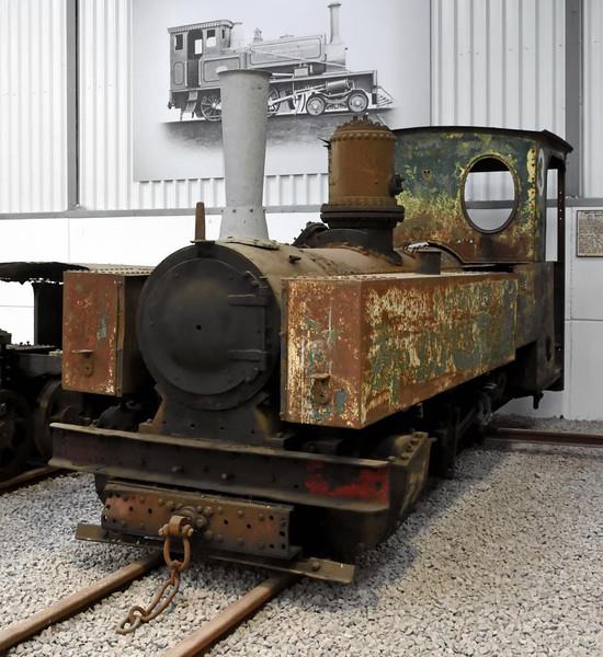 Marromeu No 3, Statfold Barn Railway, Sat 8 August 2015 1.  Henschel 0-8-0T 14928 / 1917, 2ft gauge.  From Mozambique.  Standard German Army 60cm gauge Brigadelok of the First World War.