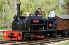 Sybil Mary, Statfold Barn Railway, Sat 8 August 2015.  Hunslet 0-4-0ST 921 / 1906, 2ft gauge.