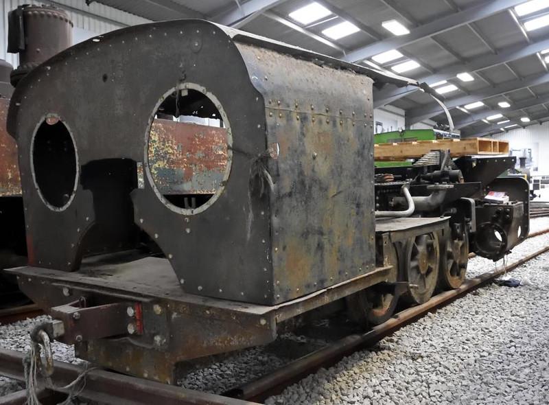 Decauville 0-6-0WTT 1735 / 1919, Statfold Barn Railway, Sat 8 August 2015.  2ft gauge.  From Mozambique.