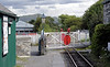 Pendre station, looking east, Thurs 25 August 2011.