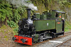 Tom Rolt, Nant Gwernol, Thurs 25 August 2011 - 1140.  The Talyllyn rebuilt 0-4-2T Tom Rolt at Pendre in 1991 from a 3ft gauge 0-4-0WT supplied to Bord na Mona (Ireland) by Andrew Barclay (2263 / 1949).