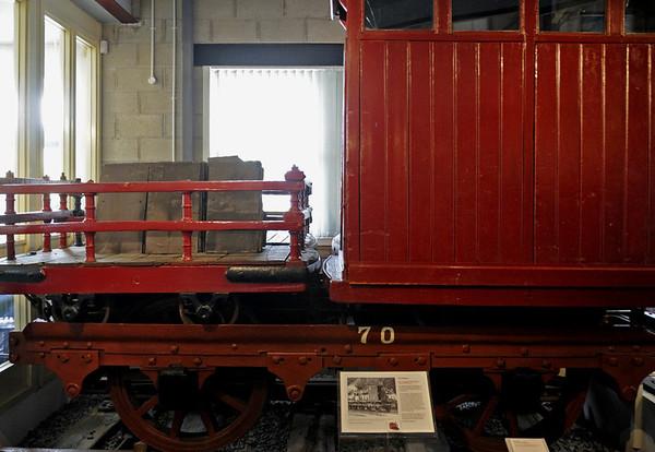 Padarn Rly transporter wagon, Narrow Gauge Railway Museum, Tywyn, Thurs 25 August 2011 2.