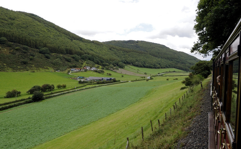 Tom Rolt, between Dolgoch and Abergynolwyn, Thurs 25 August 2011 - 1118.